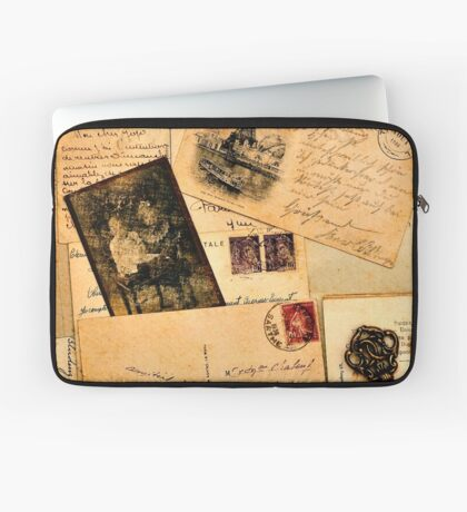 Vintage letters and postcards 2 Laptop Sleeve