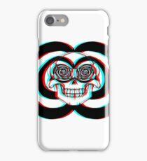 Stereoscopic Skull 3d iPhone Case/Skin