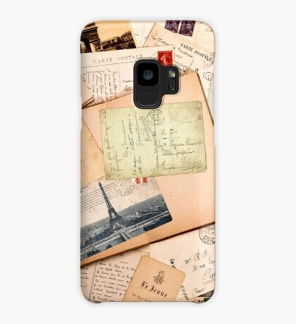 Vintage letters and postcards 3 Case/Skin for Samsung Galaxy