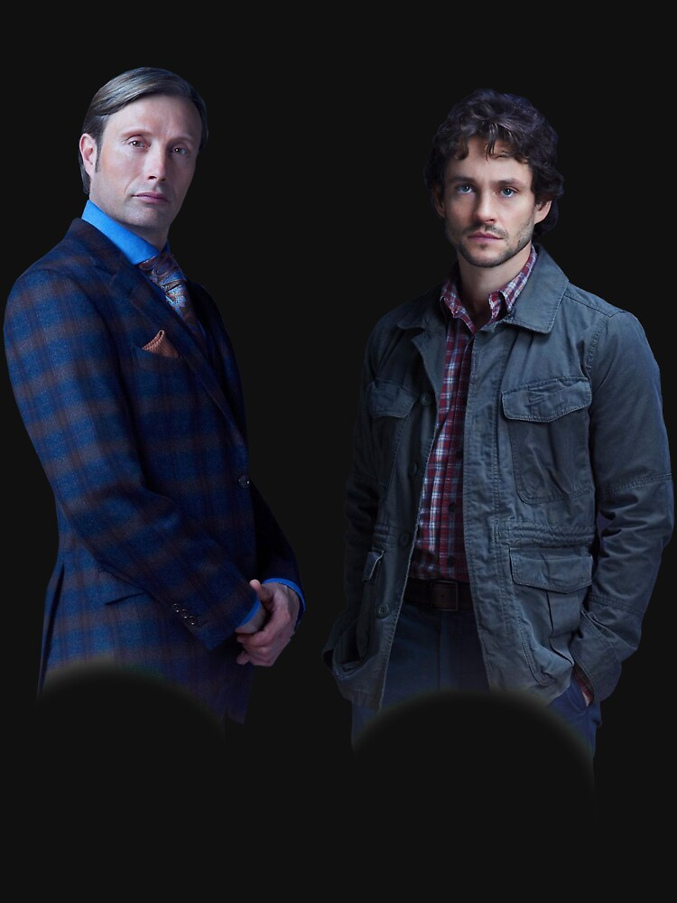 Will Graham and Hannibal Lecter by laura-downing