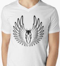 Pegaso (Black Version) Men's V-Neck T-Shirt