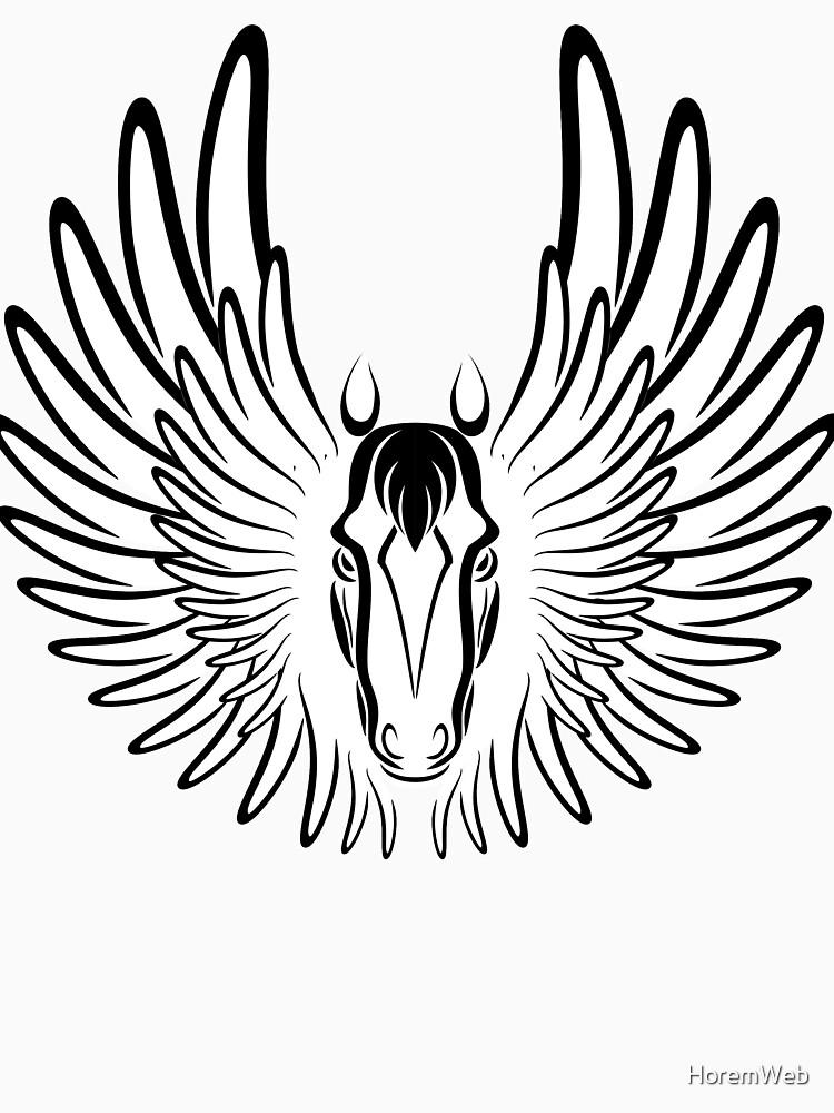 Pegaso (Black Version) by HoremWeb