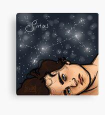 Sirius Black is a Star Canvas Print