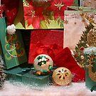 Winter holiday season background by Maryna Gumenyuk