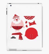 Cute happy Santa, christmas costume / creative Gift for Kids iPad Case/Skin