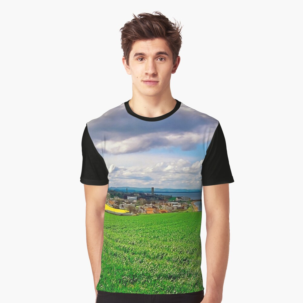 Clouds over St. Andrews by the Sea Graphic T-Shirt Front