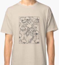 Purple Cloud Monastery Classic T-Shirt