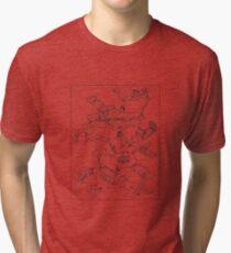 Purple Caverns Tri-blend T-Shirt