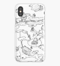 Purple Caverns iPhone Case