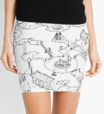 Purple Caverns Mini Skirt