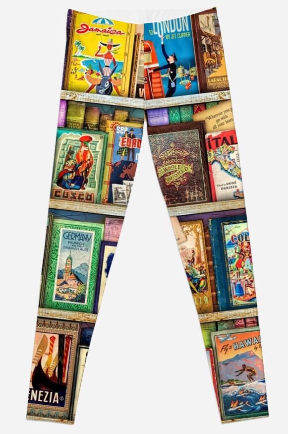 Travel Guide Book Shelf by Aimee Stewart