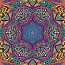 Pastels Kaleidoscope Mandala by WelshPixie