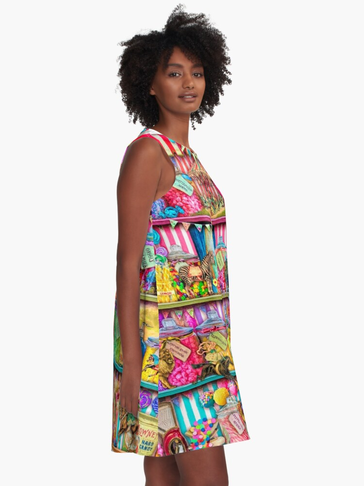 Alternate view of The Sweet Shoppe A-Line Dress