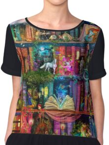 Whimsy Trove - Treasure Hunt Women's Chiffon Top
