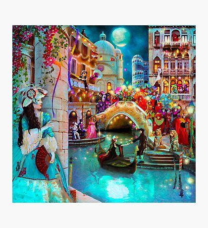 Carnival Moon Photographic Print