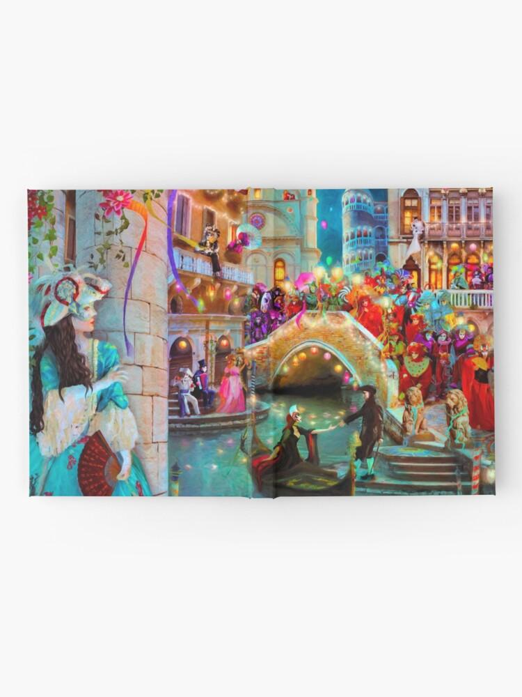 Alternate view of Carnival Moon Hardcover Journal