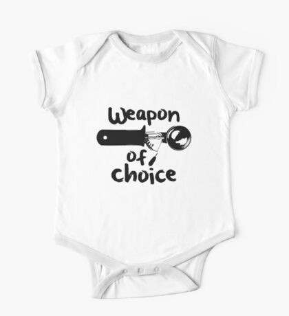 Weapons of choice - Ice Cream - Black Kids Clothes