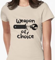 Weapons of choice - Ice Cream - Black T-Shirt