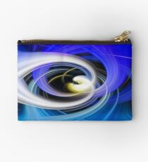 Twirl I Left Zipper Pouch