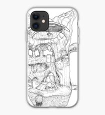 The Cleft of Five Worlds iPhone Case
