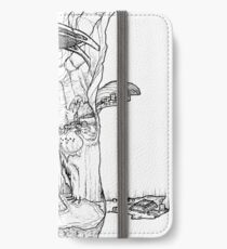 The Cleft of Five Worlds iPhone Wallet/Case/Skin