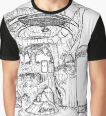The Cleft of Five Worlds Graphic T-Shirt