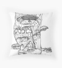 The Cleft of Five Worlds Throw Pillow