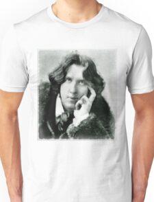Oscar Wilde, playwright and author Unisex T-Shirt