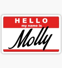 hello, my name is Molly Sticker