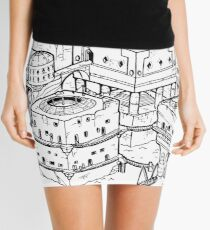 House of the Tyrant Mini Skirt