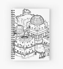 House of the Tyrant Spiral Notebook