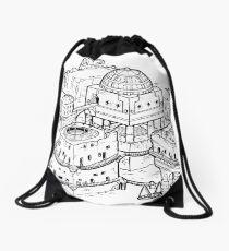 House of the Tyrant Drawstring Bag
