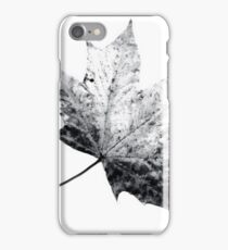 Scanned Leaf iPhone Case/Skin