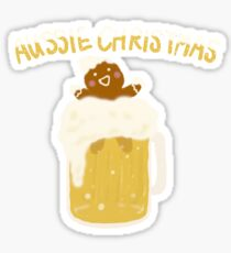 Aussie Christmas - Beer Sticker