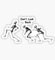 Sneaking Skeletons Sticker