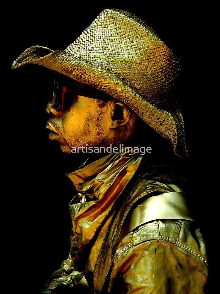 Golden Profile by artisandelimage