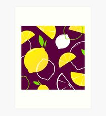 New! Citrus old-style Collection in shop Art Print