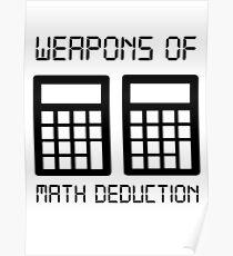 Math deduction Poster