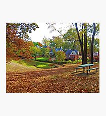An American Suburb Photographic Print