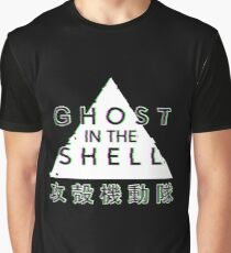 Ghost In The Shell Glitch Graphic T-Shirt