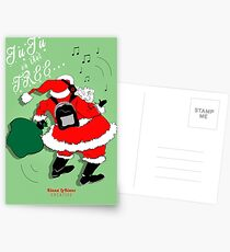 JuJu Santa 2016 Postcards
