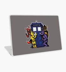 The Animatronics Have the Phone Box  Laptop Skin