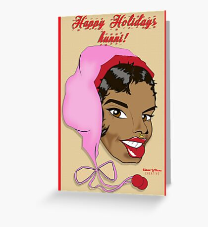 Holiday Hunni Greeting Card