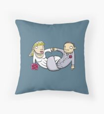 Tie the Knot Throw Pillow