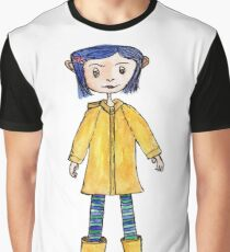 Girl in a Raincoat Graphic T-Shirt