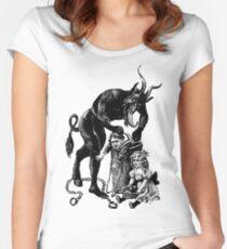 Mr Krampus Women's Fitted Scoop T-Shirt