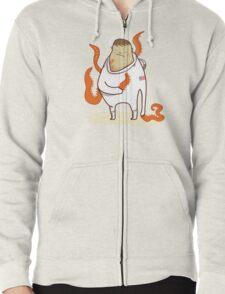 Astronaut - Alien takeover Zipped Hoodie