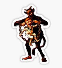 Mr Krampus Sticker