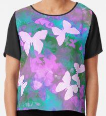 Schmetterling träumen Chiffontop