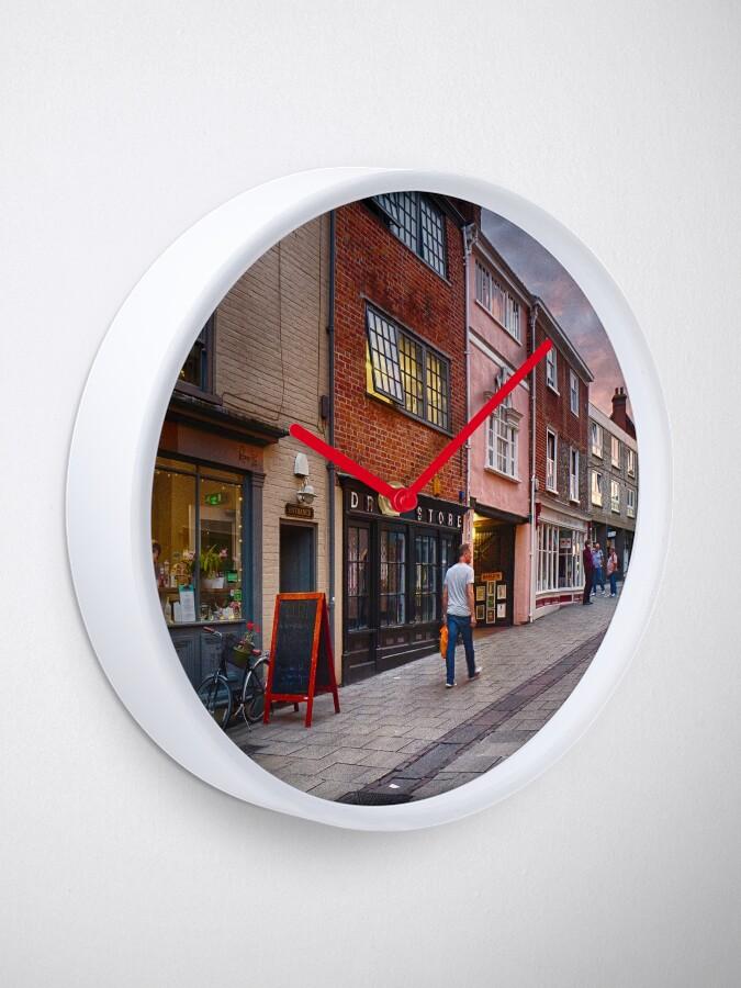 Alternate view of Pottering Along Pottergate Clock